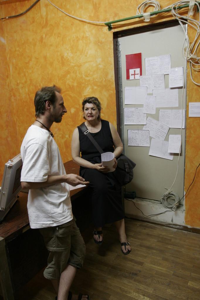 ...und vielen Gesprächen zur Finanzkrise in Athen.