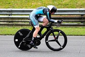 Astrid Lamprecht 2. Platz beim Einzelzeitfahren am Salzburgring 2020