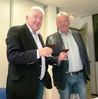 """Roland Rohn Formateur et Hubert Heintz PDG de la """"Sommellerie de France"""""""