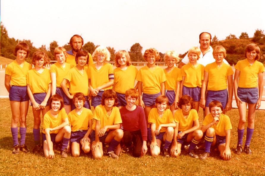 Kreispokalsieger 1. Knaben 1976