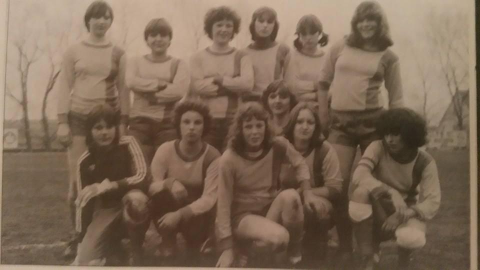 Unsere erste Damen-Mannschaft um 1978