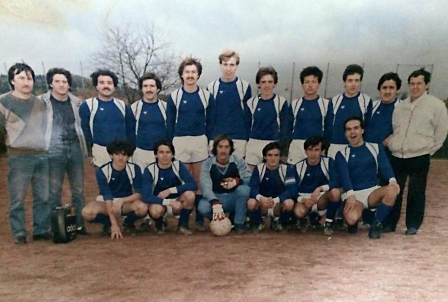 III. Mannschaft Elpis Kalthof irgendwann in den 80er Jahren