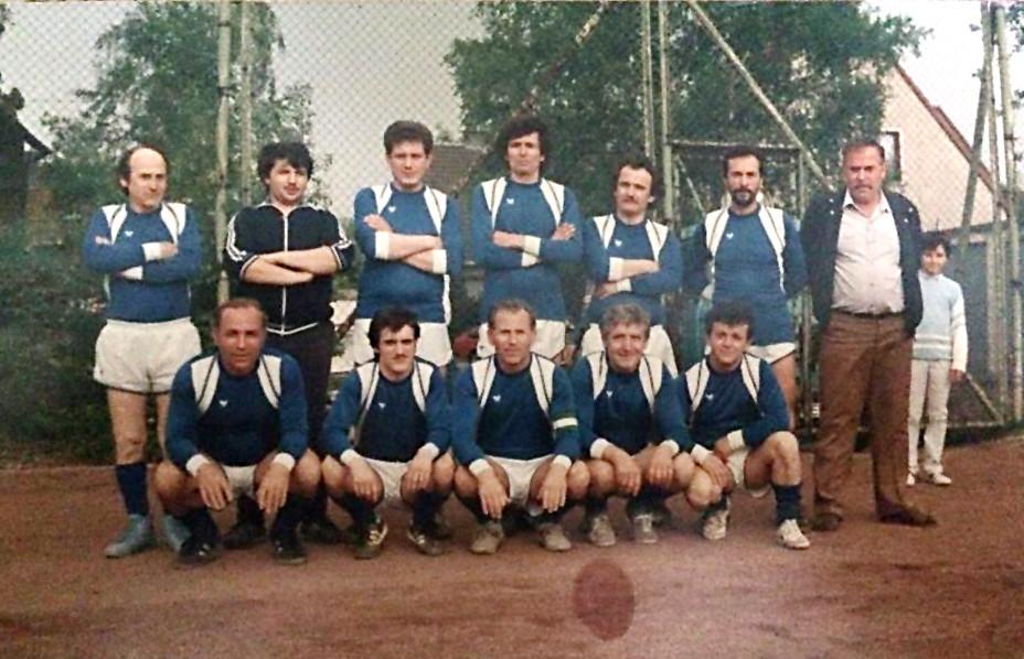 III. Mannschaft 1986