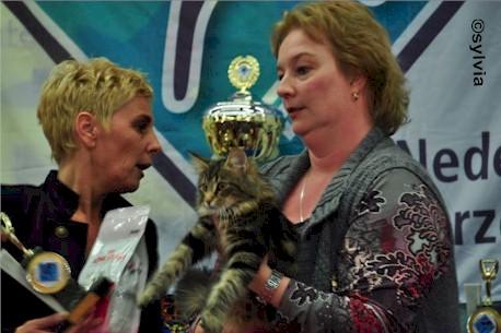 Lizzy und Sylvia - Gewinn der Best in Show - 02.2012