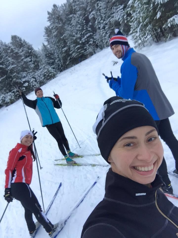 Лыжное селфи