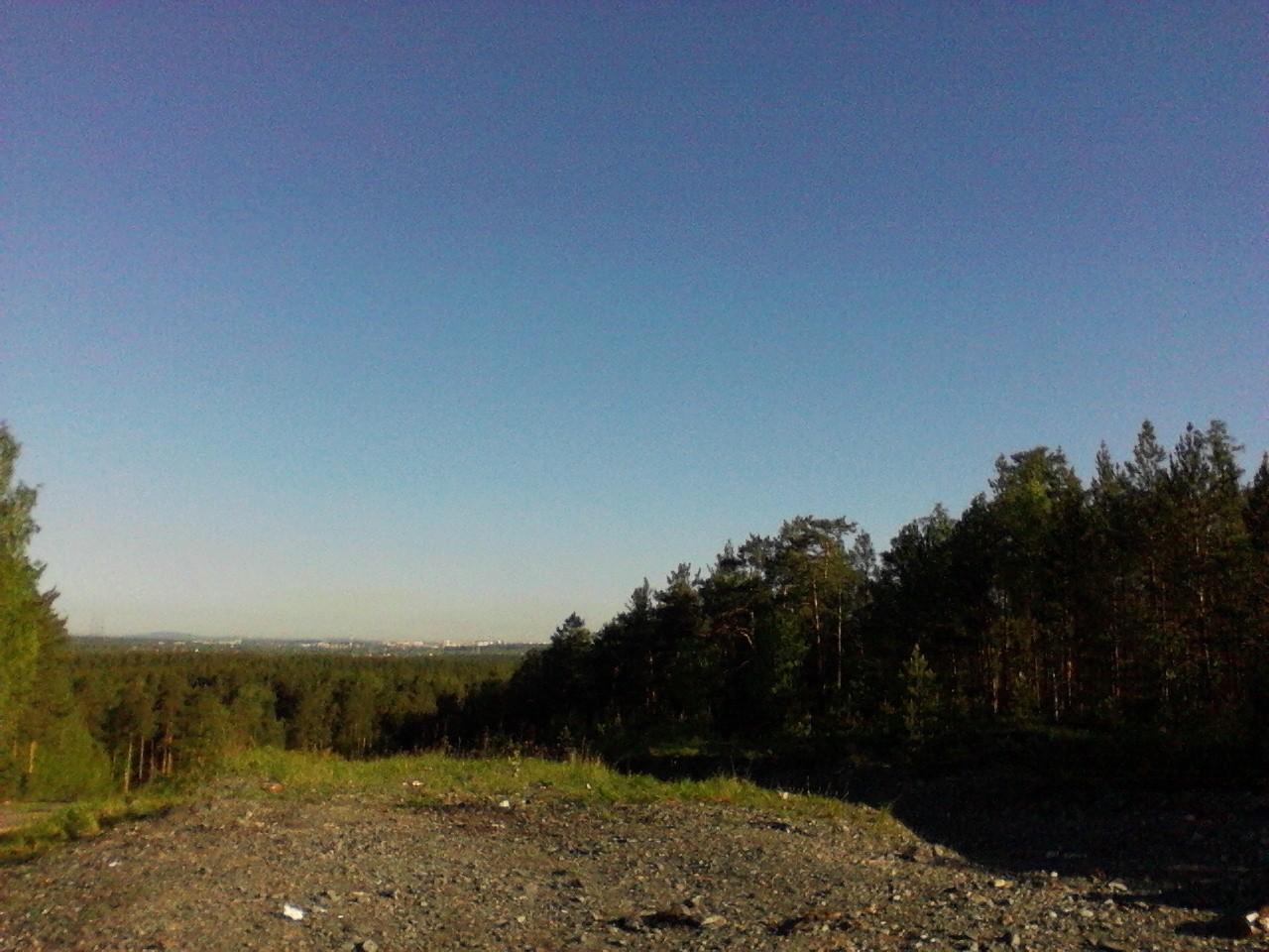 Вид на Верхнюю Пышму