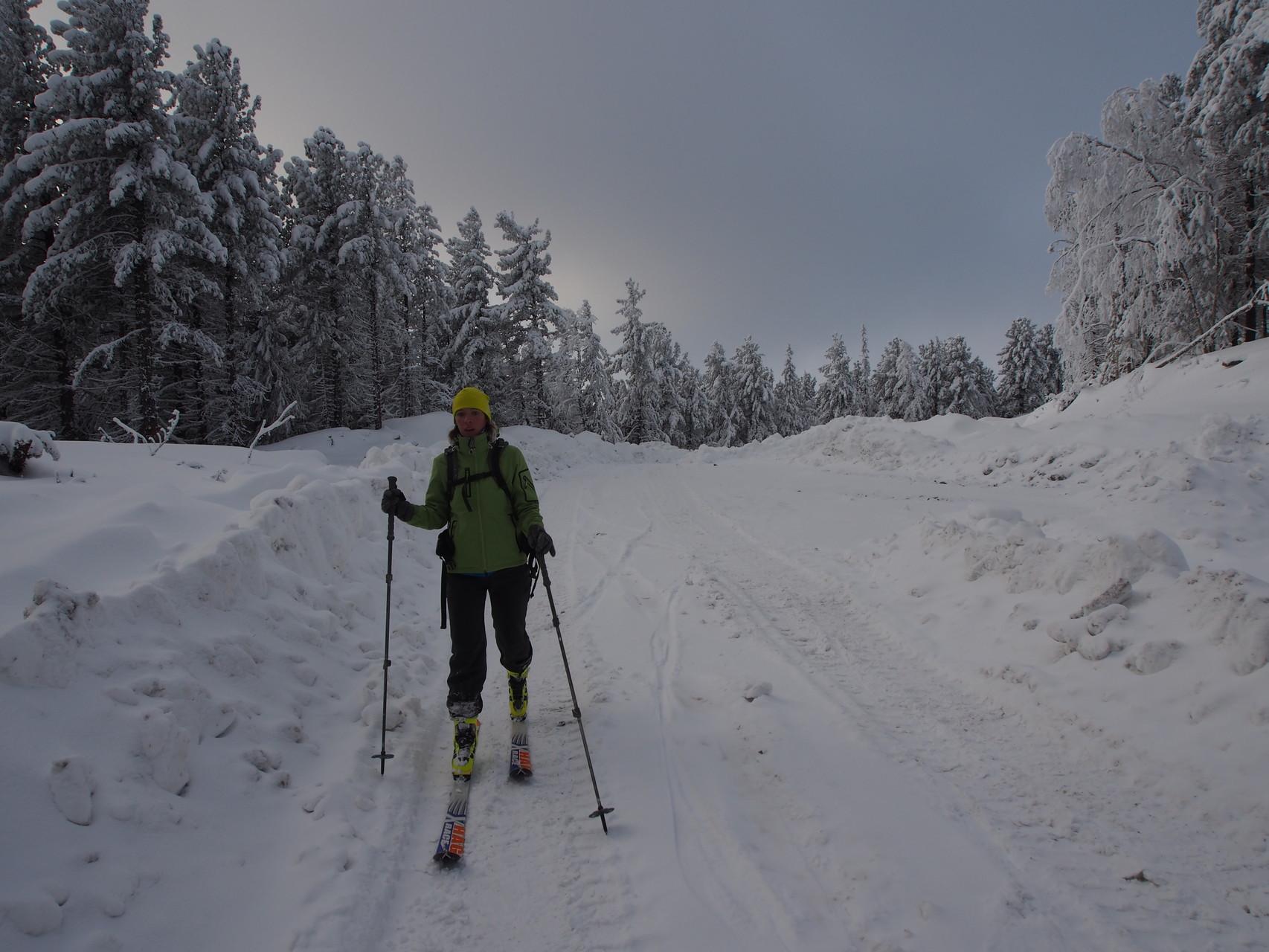 Ски-тур на Конжаке
