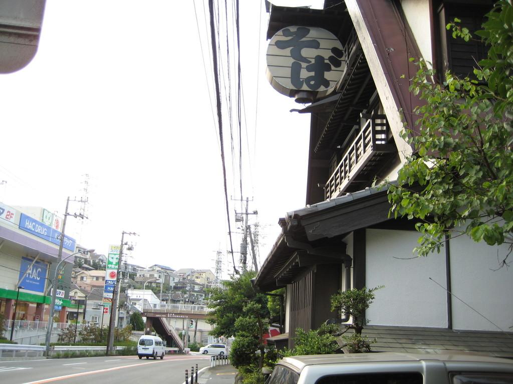 40mほど下ると 『そば処 名古屋』さんがあり・・・