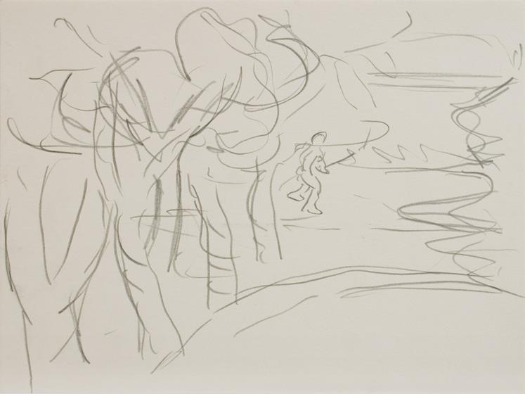 U. 2 / 2015 / 32 x 24 cm / Bleistift auf Papier