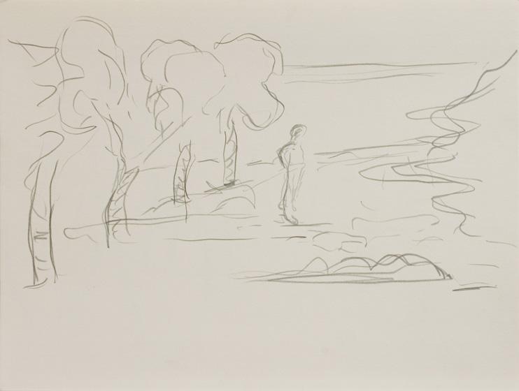 U. 1 / 2015 / 32 x 24 cm / Bleistift auf Papier