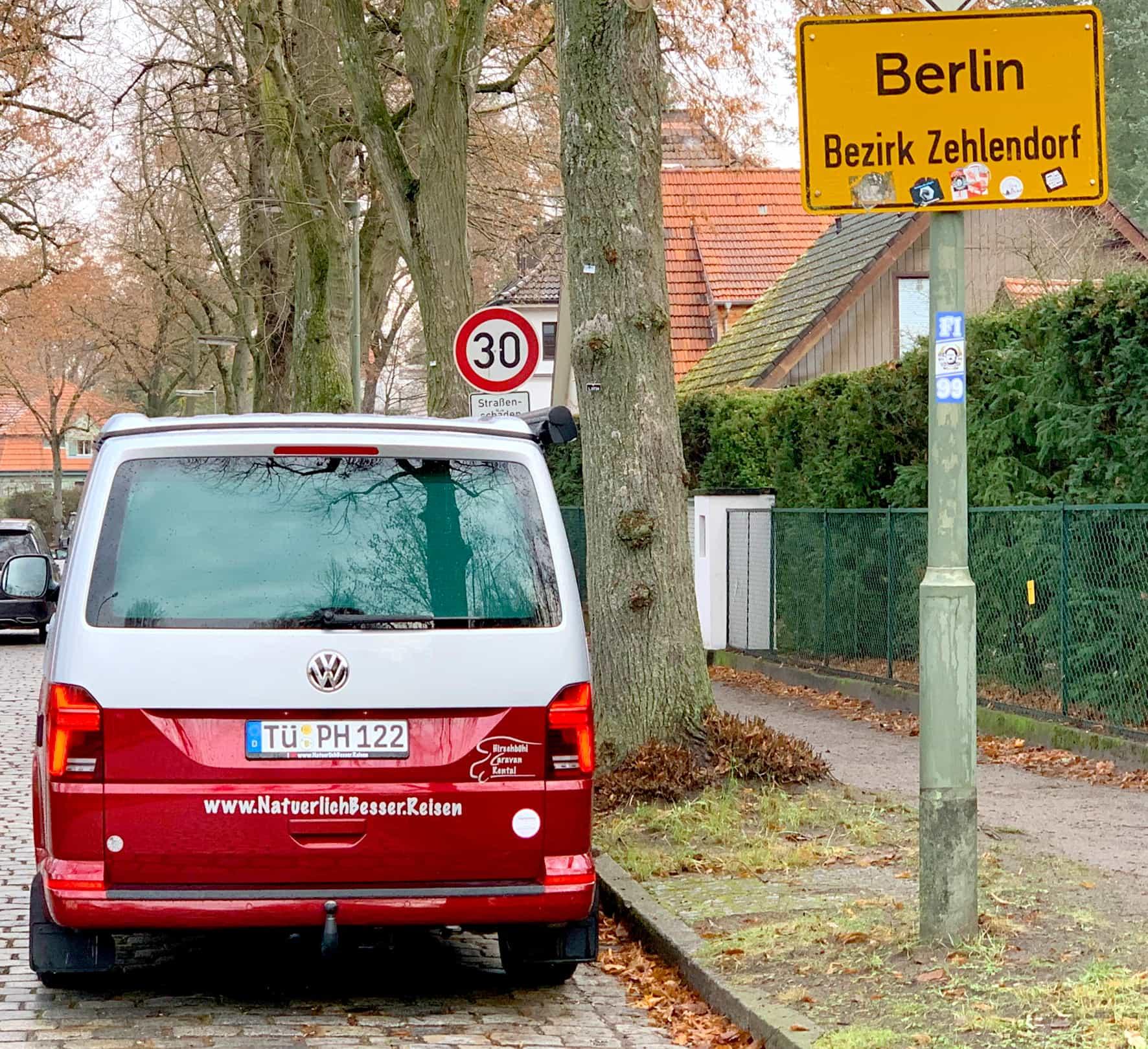 Hirschbulli Der VW-Bus T6.1 California Beach in Potsdam und Berlin
