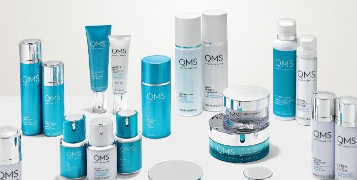 QMS Pflegeprodukte für Ihre Gesichtsbehandlung in Köln, Sauerstoffbehandlung Gesicht, Anti Aging Gesichtsbehandlung, Classic Set, Collagen