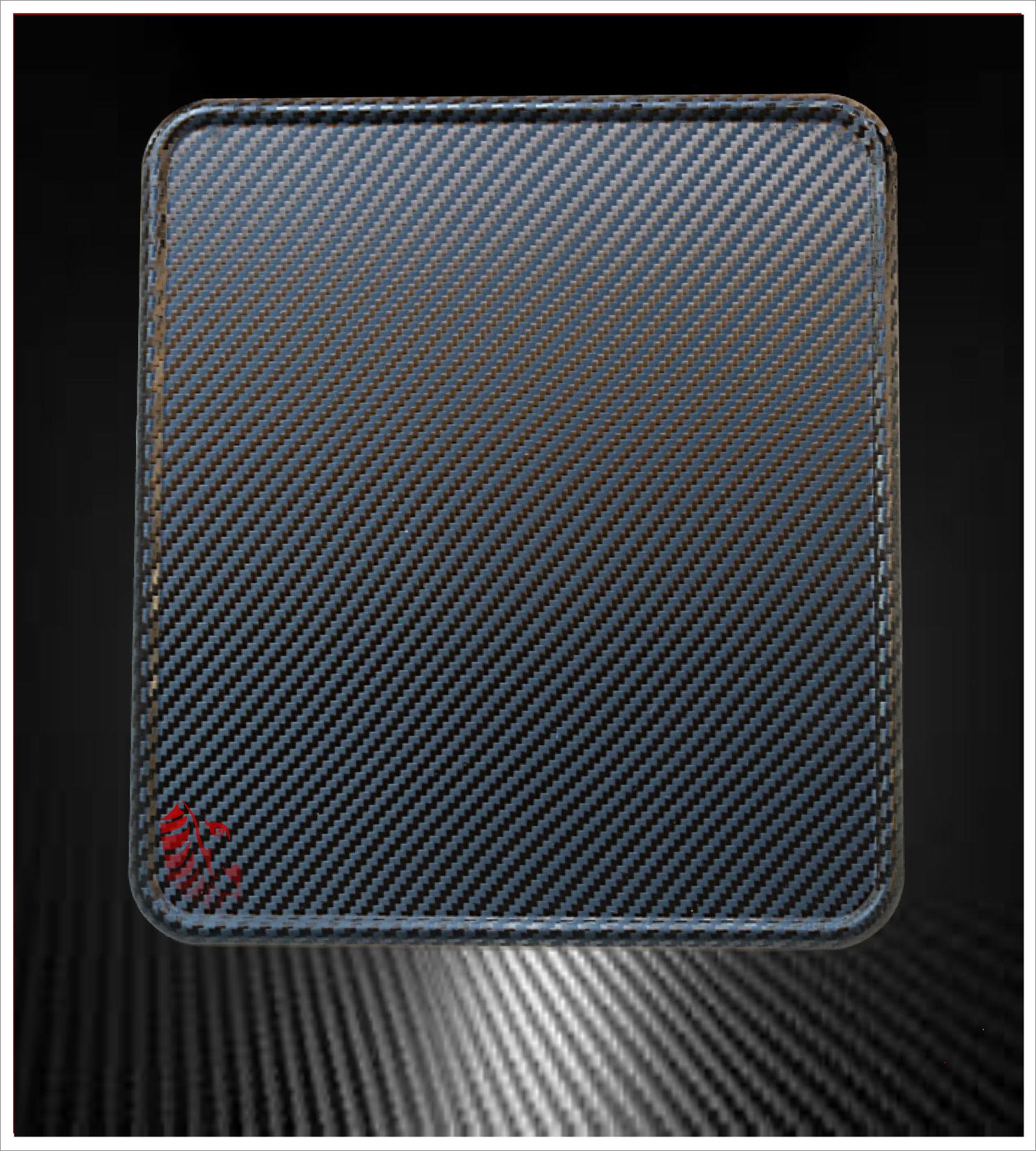 Motorrad Kennzeichenverstärker Carbon Stone