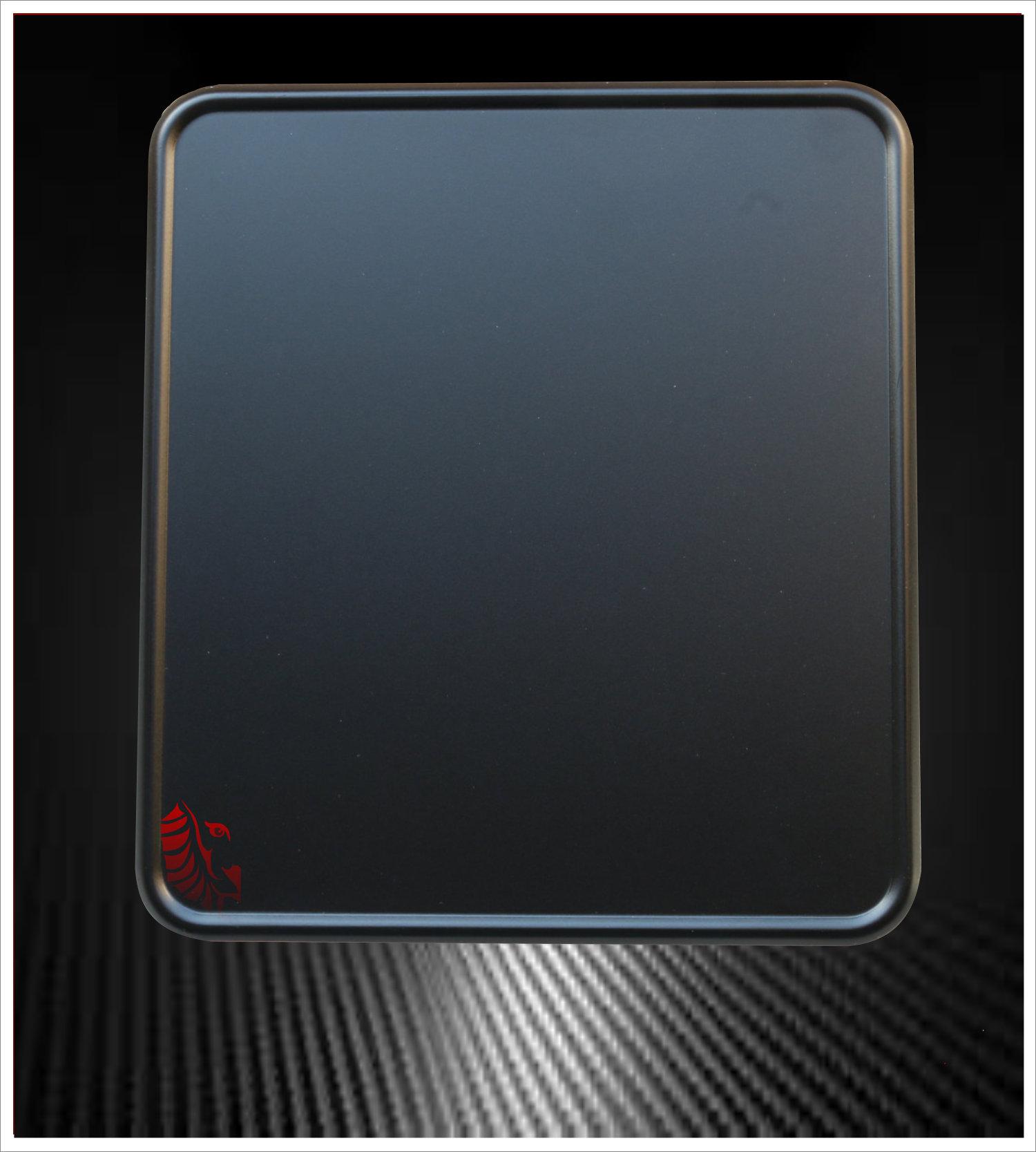 Motorrad Kennzeichenverstärker Black Pearl
