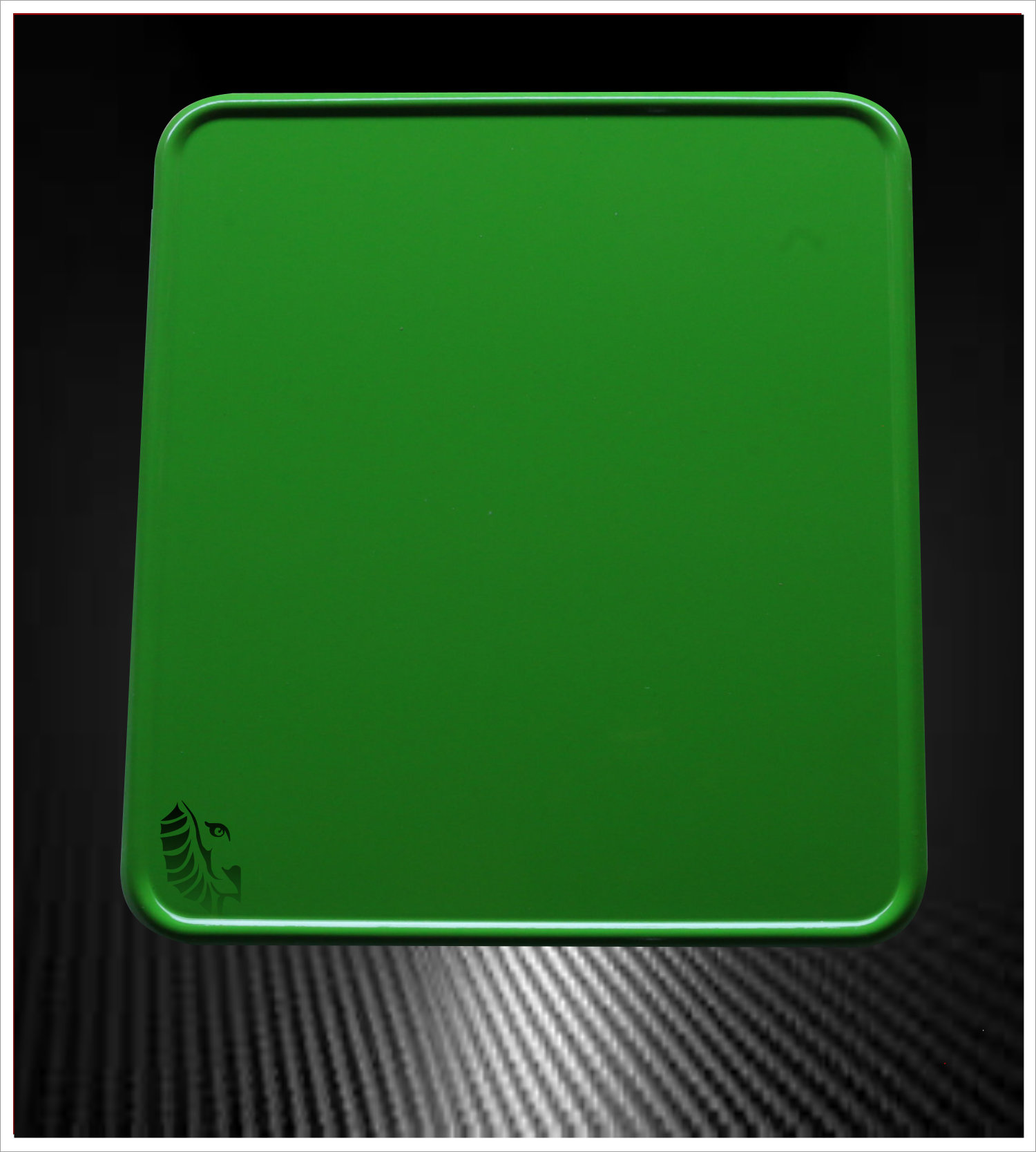 Motorrad Kennzeichenverstärker Green Sport