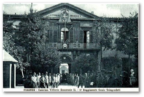 Caserma  3° Reggimento Genio Telegrafisti - Firenze