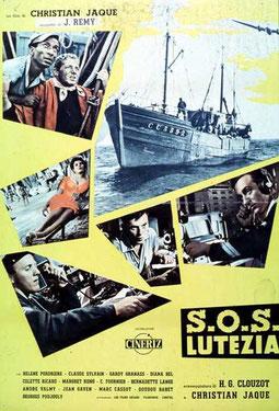 """""""S.O.S. Lutezia"""" 1956"""