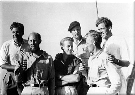L' equipaggio del Kon-Tiki