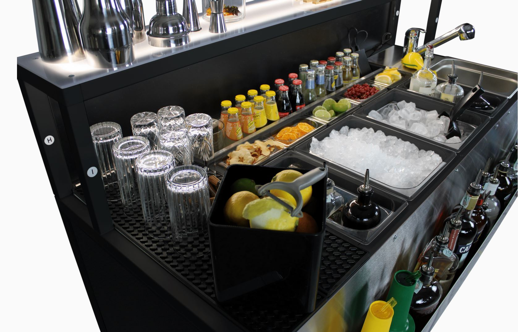 Die Cocktailbar für draussen