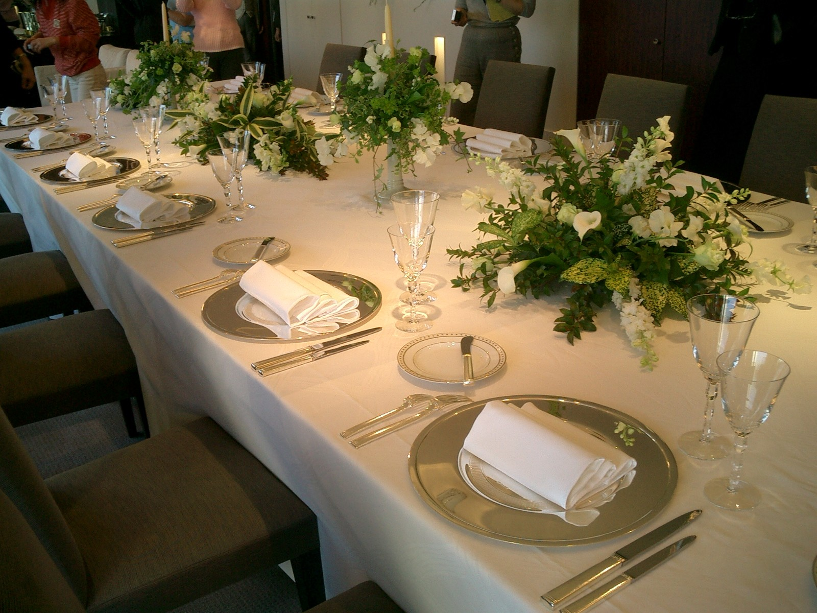 4. Oval Table Centre