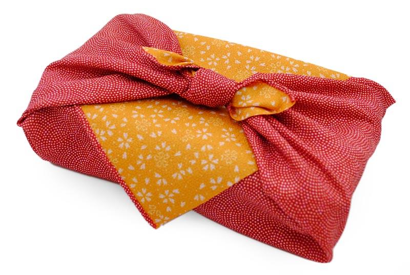 reversible Komon - red/orange -