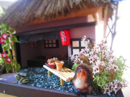 THACH-ROOFED HOUSE, Noodel shop