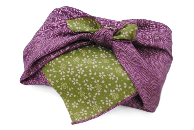 reversible Komon - purple/green -