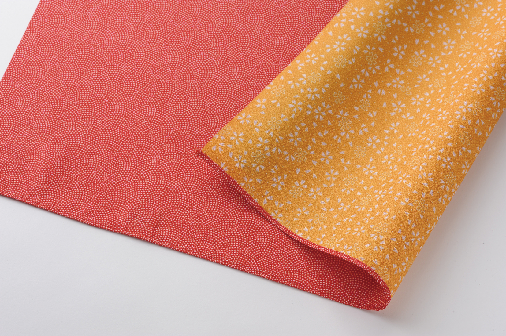 reversible Komon - red/orange -