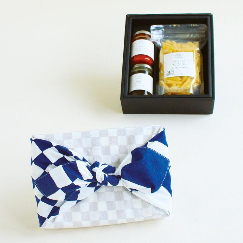 Hare-Tsutsumi - Ichimatsu, blue -
