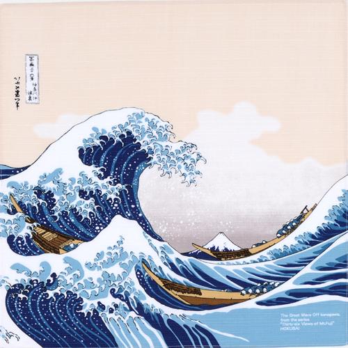 "Art.No.2)""The Great Wave Off Kanagawa"" by Hokusai"