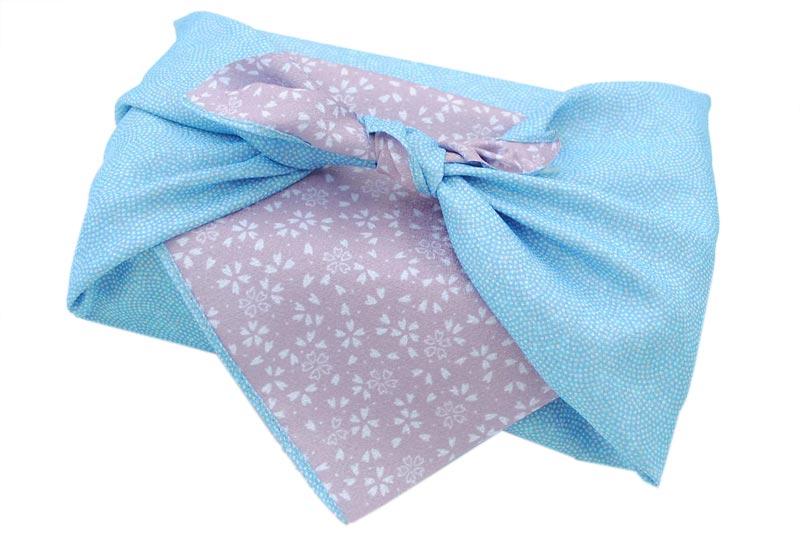 reversible Komon - blue/violet -