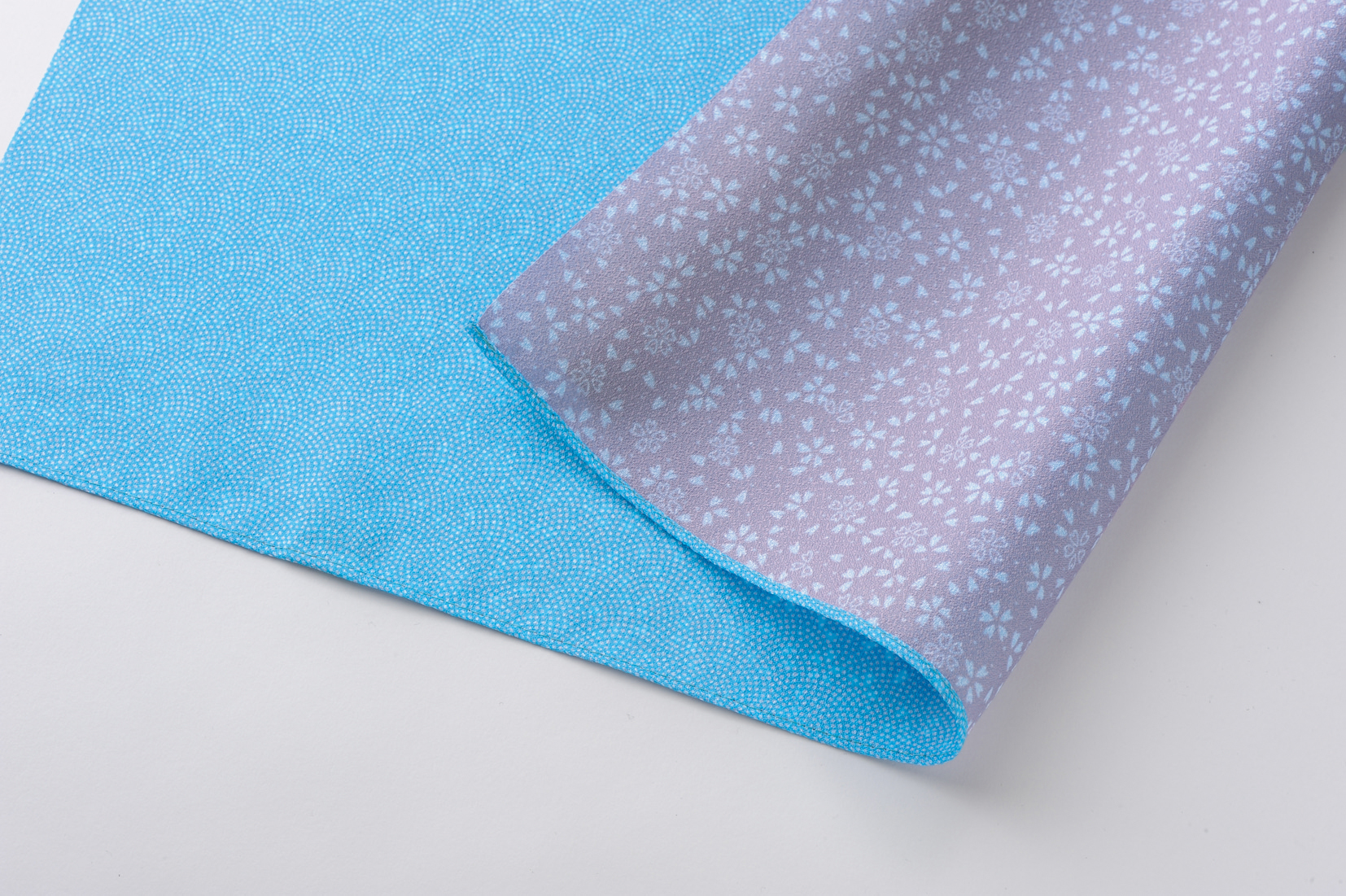 reversible Komon - blue/violet -