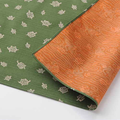 No.3) KAME - Tortoise - green/orange