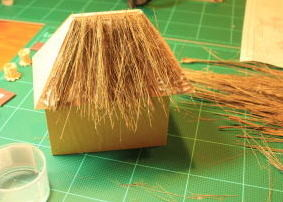Making a Thatched roof is a difficult task