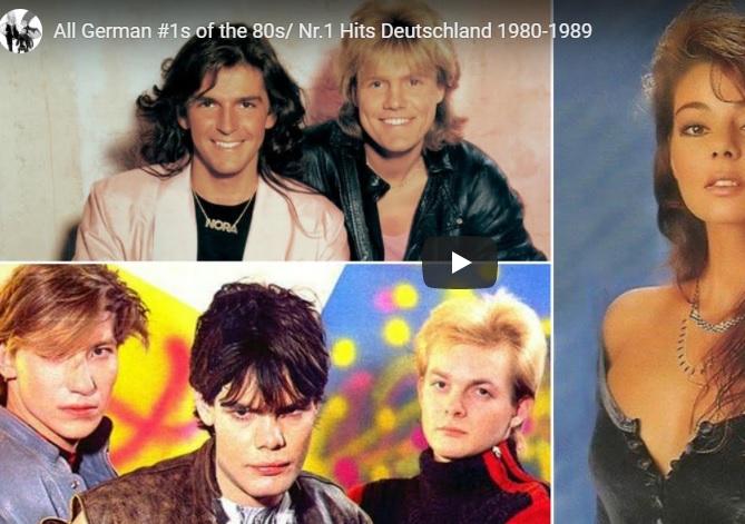 Alle Nr.1 Hits der 80er aus den deutschen Charts