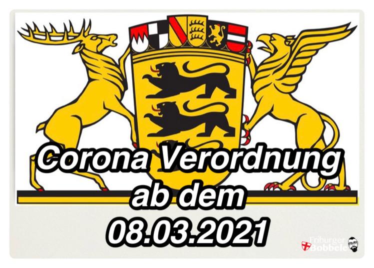 Corona Verordnung ab dem 08.03.2021 für Baden-Württemberg
