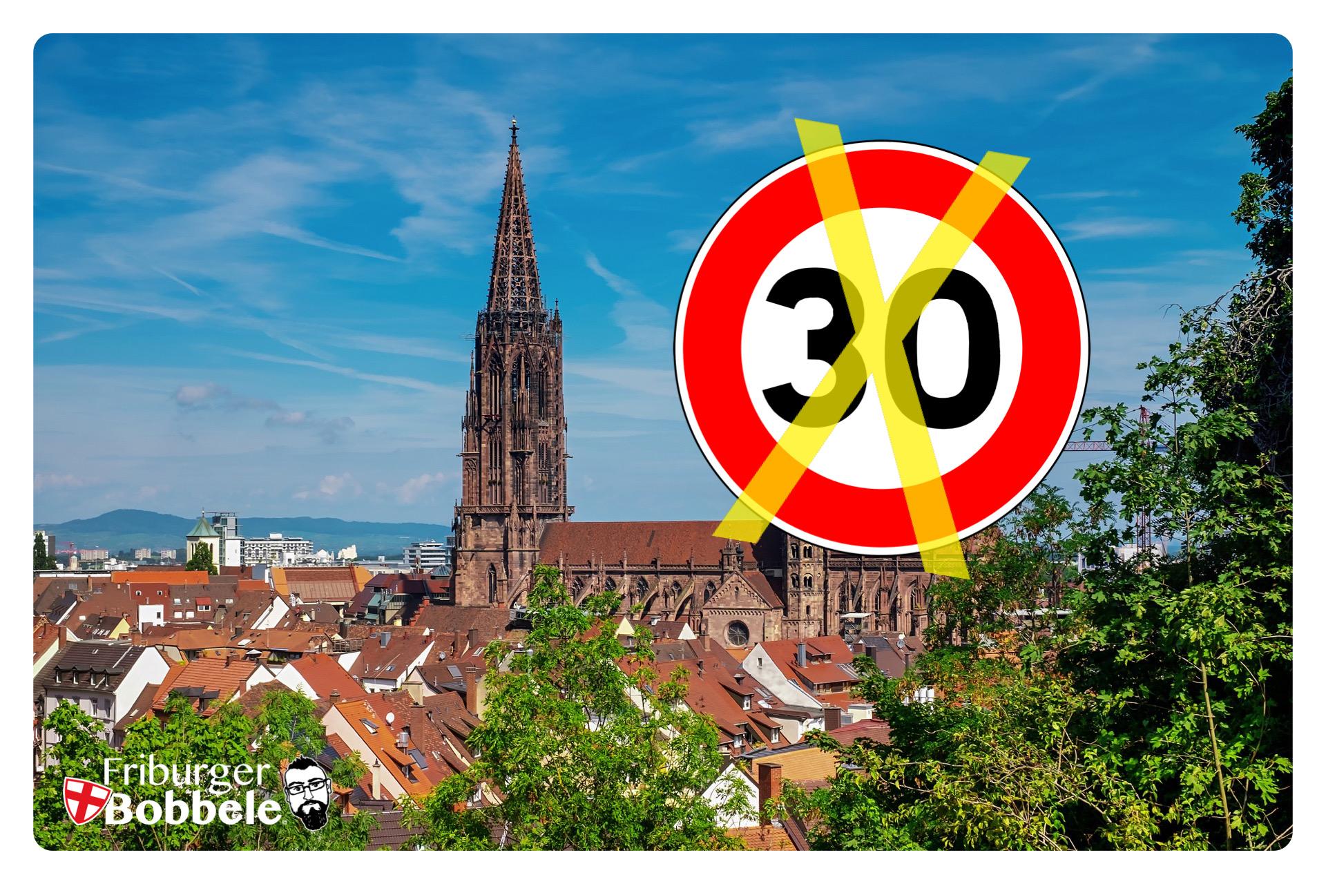 """Tempo 30 in ganz Freiburg? Der Verkehrsminister sagt """"Nein"""""""