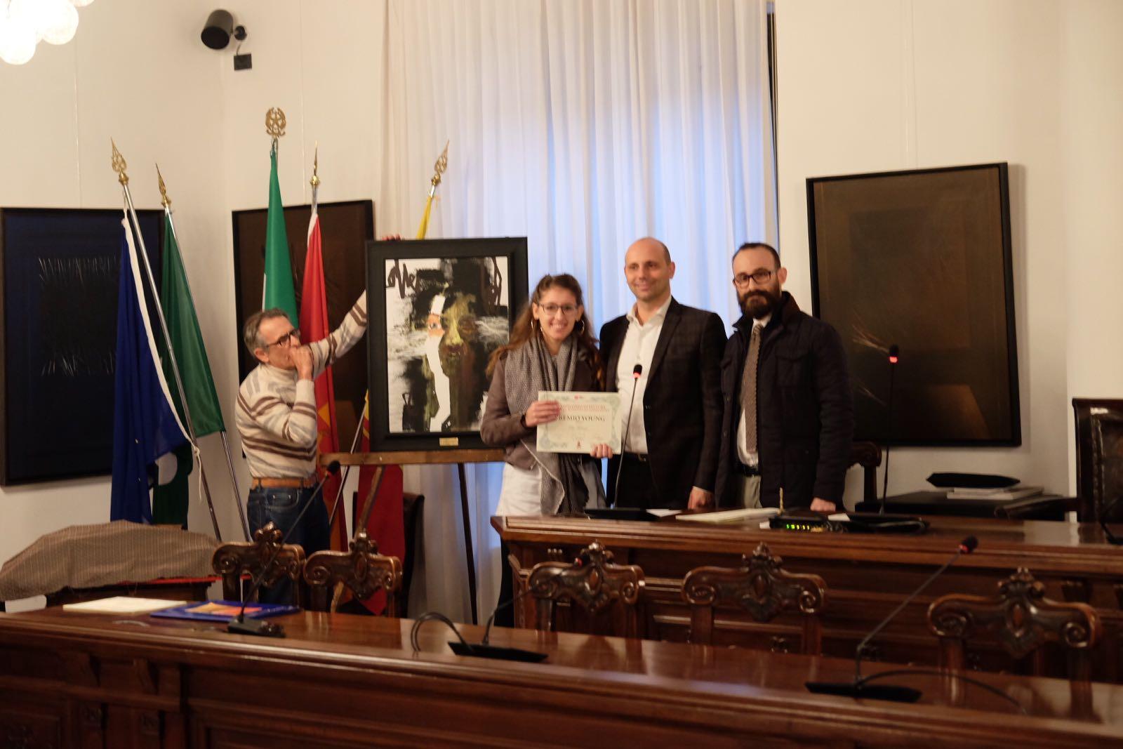 La vincitrice del Premio Giovani, Elisa Vavassori