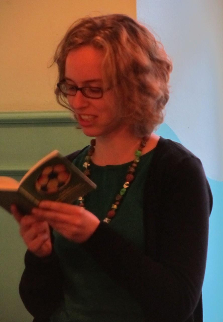 "Elisa Krimbacher las ihren Text ""Endspiel"""