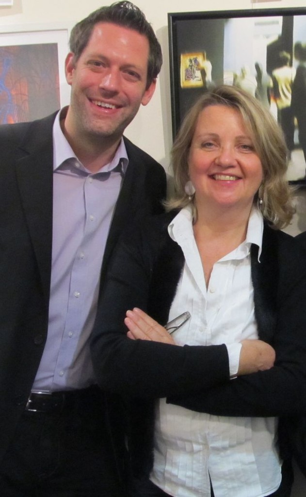 Jan-Eike Hornauer (2. Vorsitzender), Monika Veth (stellv. Schriftführerin)