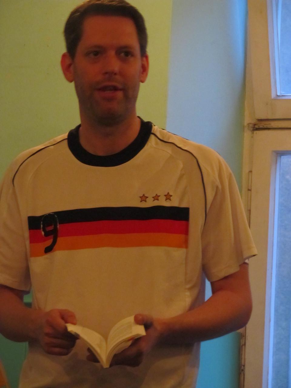 Unser 2. Vorsitzender Jan-Eike Hornauer