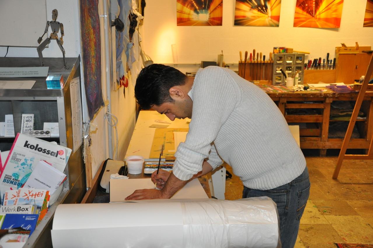 Firoz Nori | KunstMACHtag | 2013 | Machwerk e.V.