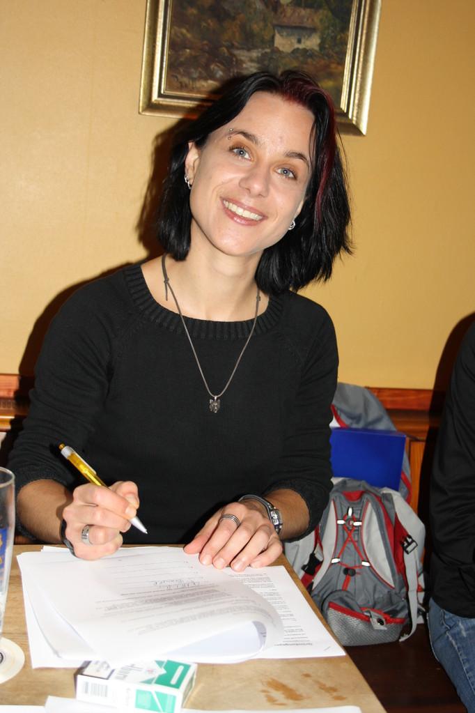 Sabine Brandl - 1. Vorsitzende | Gründungsversammlung | 2010