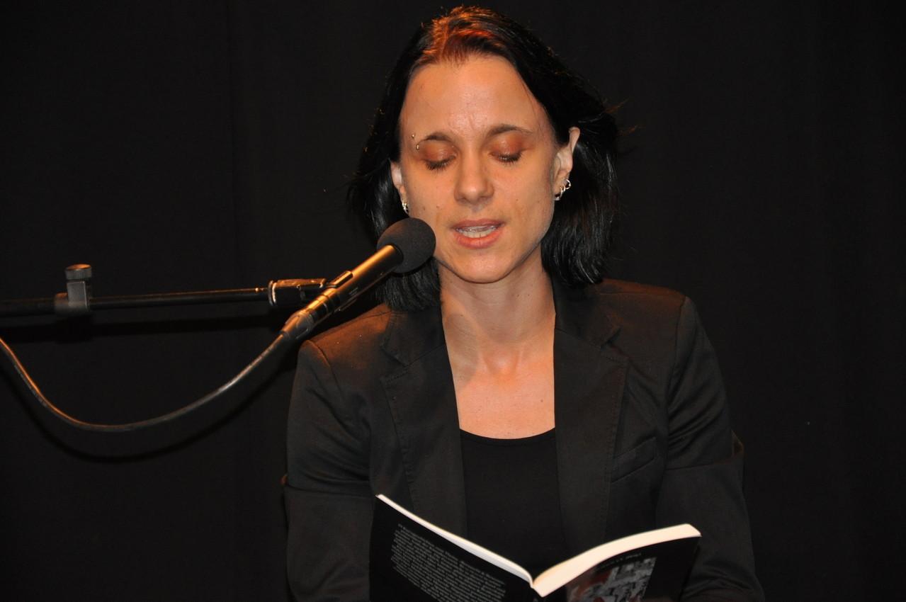 """Sabine Brandl liest """"Der Moment"""""""