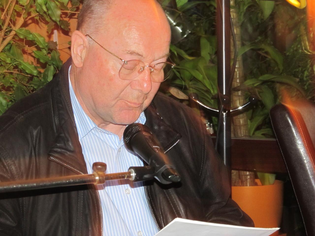 Günter Kohlbecker liest