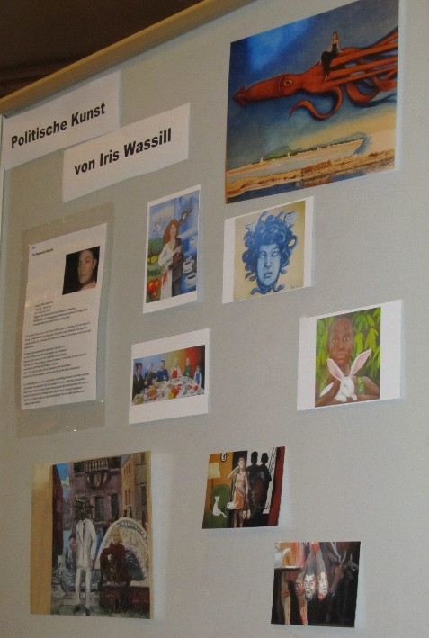 Politische Kunst von Iris Wassill