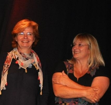 (links) Jutta Baltes, (rechts) Ulrike Weinhart