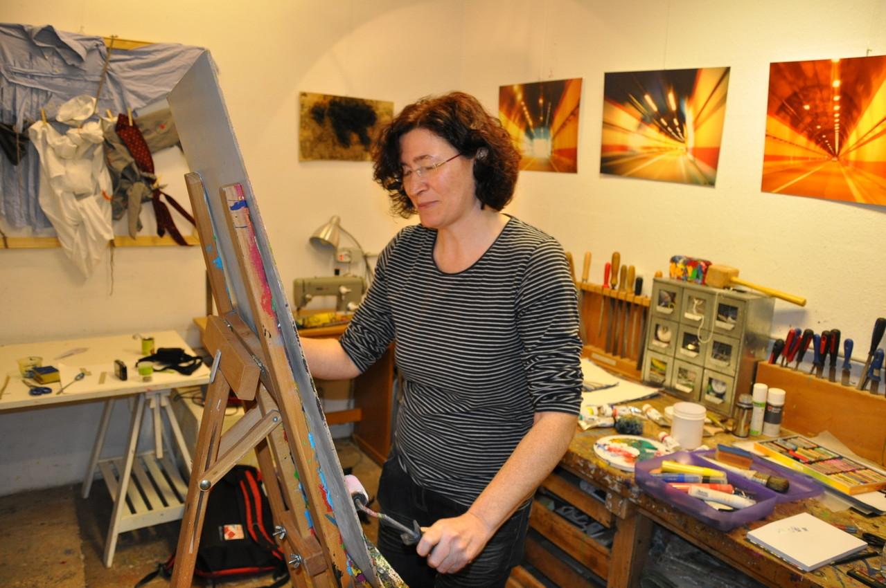 Gisela Weinhändler in Aktion