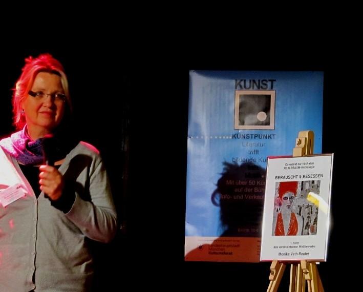 Monika Veth erhielt den 1. Preis unseres Coverbildwettbewerbs zur nächsten REALTRAUM-Anthologie