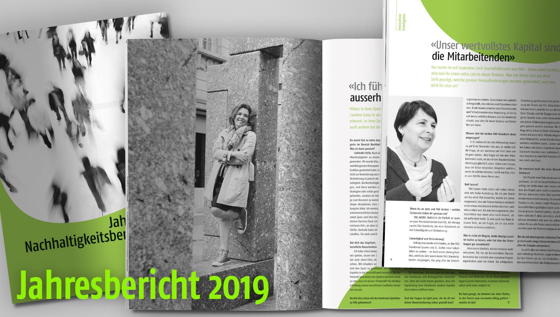 Foto Jahres- und Nachhaltigkeitsbericht 2018